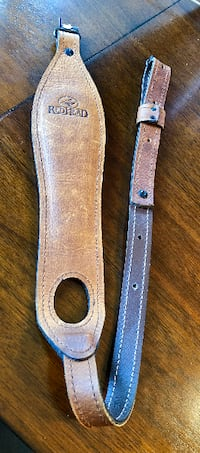 """Red Head Padded Leather Rifle Sling, 34"""""""