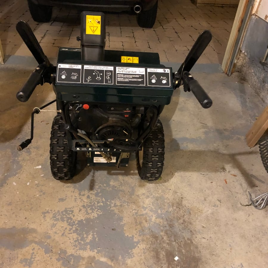 Gas Snowblower