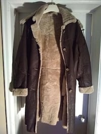 Women's Shearling Coat with removable Hood Toronto
