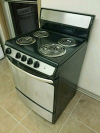 Stove electric 24 inches wide apartment size   Call before coming out