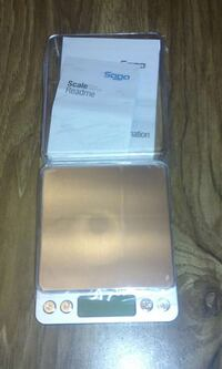 Digital Scale  2000 Gr. 4.4 Lbs. Batteries Include