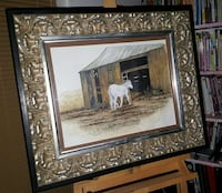 """Horse and Barn""  Original Artwork By Shreveport Artist Shreveport, 71104"