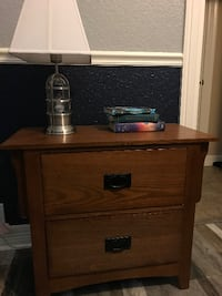 Mission Style Nightstand by Coaster Fine Furniture  SANANTONIO