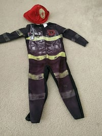 Fire fighter dress for 2-3 years old Herndon, 20171