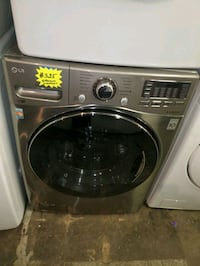 LG front load Washer working perfectly four months warranty  Baltimore, 21223