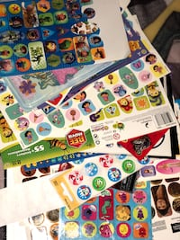 1500+ stickers and sticker book full Mississauga, L5P 1B2