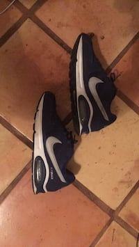 black-and-white Nike Air Max shoes Delray Beach, 33444