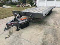 24 foot dimond c trailer only used once