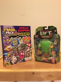 Ult Fighting Trashies Glow Mania 12pk & Activity, Color, Sticker Book
