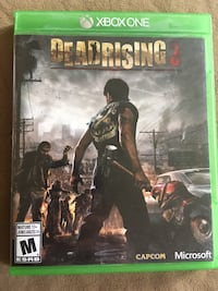 Dead rising 3 Xbox one Barrie, L4N 6T5