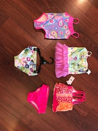 Baby/toddler girls bathing suits, new with tags (12-18/18m sizes) Langley, V2Y 3A6