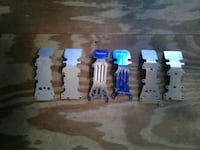 RC aluminum front and rear skid plates for Traxxas Emaxx Tmaxx
