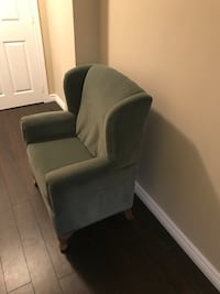 Custom made chair for child's room or accent piece.
