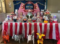 Circus Birthday decoration rental- candy buffet/candy table  San Jose, 95130
