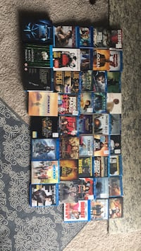 Blue Ray/ DVD movie collection Ashburn, 20147