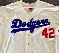 #42 Jackie Robinson Brooklyn Dodgers Mitchell & Ness Home Jersey  Lake Forest, 92630