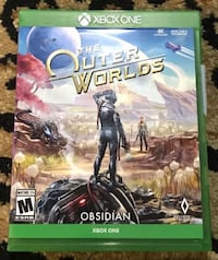 Xbox one outer worlds