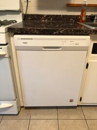 white and black dishwasher and white gas range oven New Milford, 07646