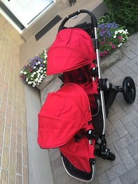 Euc double city select stroller  Whitby, L1N