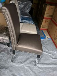 Brand new Brown leatherate chairs. Read info Markham