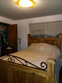 Bed frame, mattress, and box spring! Burien, 98146