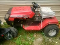 red and black Murray ride on mower Rockwood, 37854