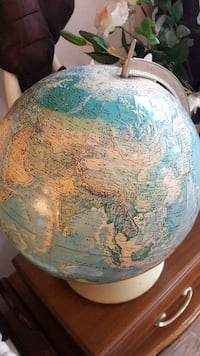 Globe from 1990 or before
