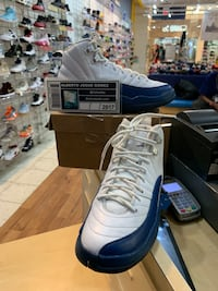 Air Jordan 12 BG French Blue 2016 Size 5.5Y Beltsville, 20705