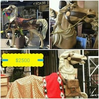 Carousel style carved horse Long Beach, 90807