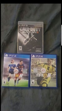 2 PS4 GAMES AND 1 PS3 GAME - $10 for all!!! Gaithersburg, 20879