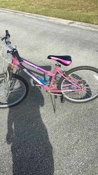 pink and purple Roadmaster bicycle Port Saint Lucie, 34953