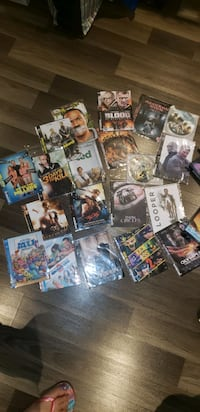 All Dvd movies and vhs kids shows