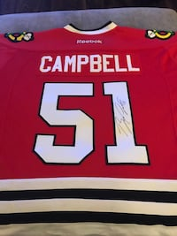 Brian campbell signed blackhawks jersey Chicago, 60601