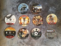 PS3 games each one 20$$$$ for the all games 100$$ Ottawa