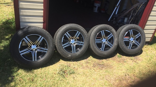 18 Inch Rims And Tires >> Elbrus 18 Inch Rims 5 Spoke 5 X 120 All 4 Rims Tires Are Worn Out