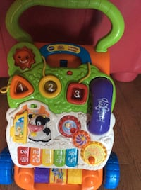 Orange, white, and blue vtech learning walker Toronto, M1L 4R8