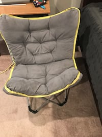 gray and yellow camping chair Crofton, 21114