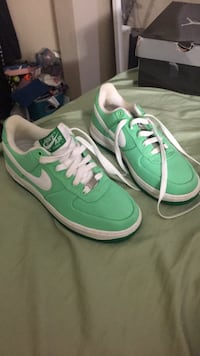 Nike Air Force Ones Mint Green size 7 Indian Harbour Beach, 32937