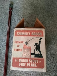 chimney brush with goggles and 4 poles 4ft. each Sparrows Point, 21219