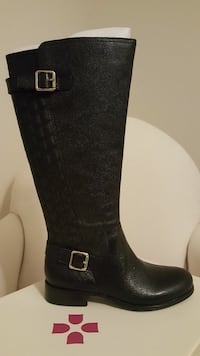 Women's Naturalizer Black Leather Boots