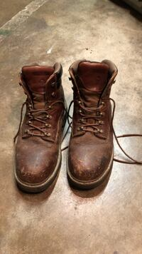 Wolverine size 9 construction boots