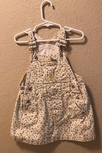 4T Jean skirt overall Brownsville