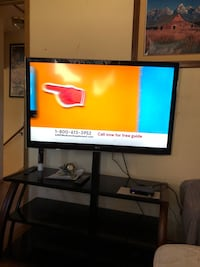47 in lg smart tv and stand  Colorado Springs, 80916