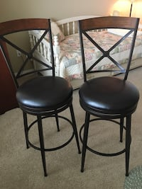 Two brand new barstools from bed, bath and beyond