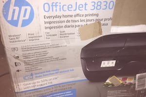 New HP Officejet 3830 color printer, all-in-one, wifi