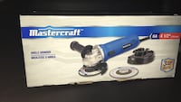 Brand new never used mastercraft grinder 536 km