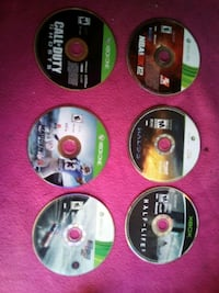 four assorted PS3 game discs Austin, 78758