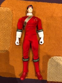Power Rangers Wild Force Red Ranger Action Figure  Mississauga, L5B 4C1