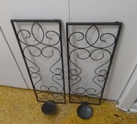 black wrought iron wall decor New Orleans