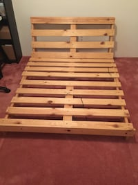 Double size futon bed frame Burnaby, V5B 1Y1